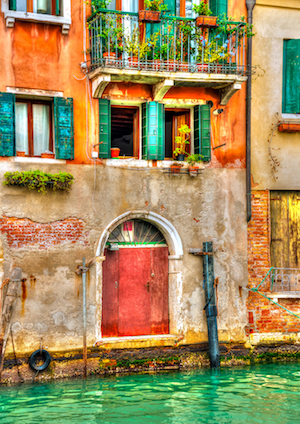 itay venice colourful house